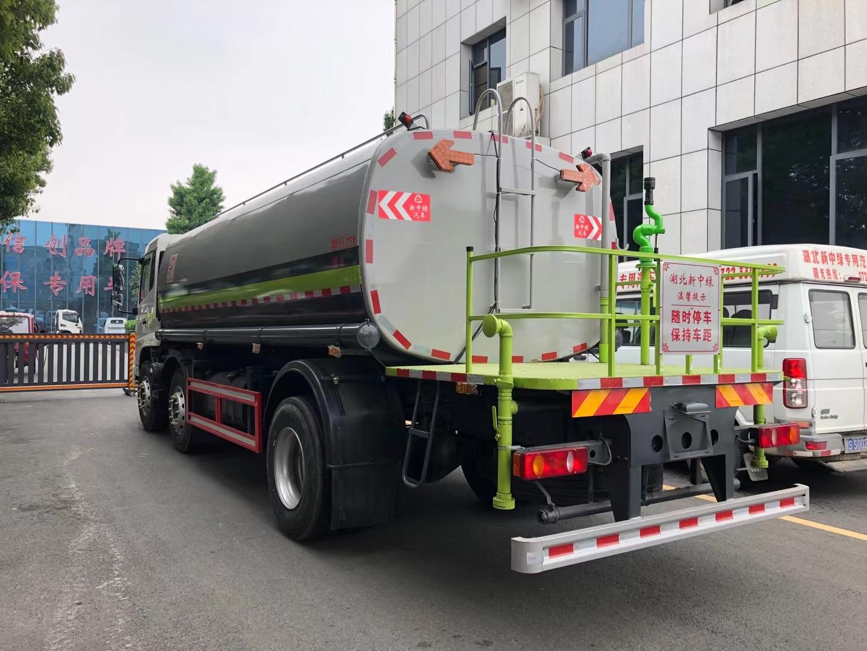国六东风天锦小三轴绿化喷洒车20吨洒水车图片