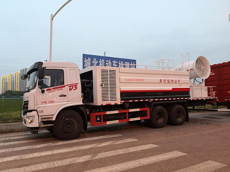 工地18吨抑尘车获客户好评