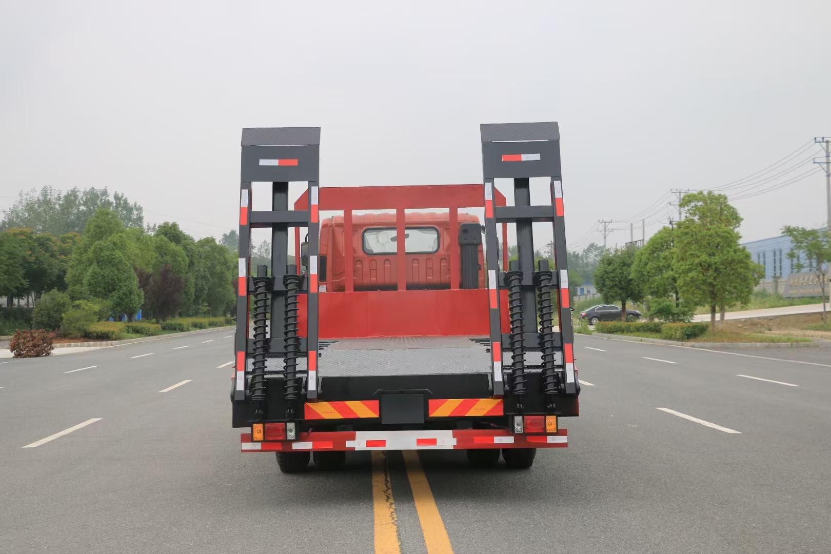 福田瑞沃4800轴距国六平板运输车图片