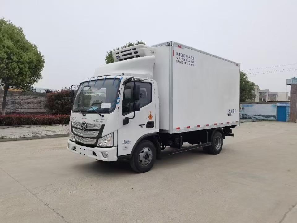 福田欧马可4.2米国六冷藏车厂家直销在哪里图片