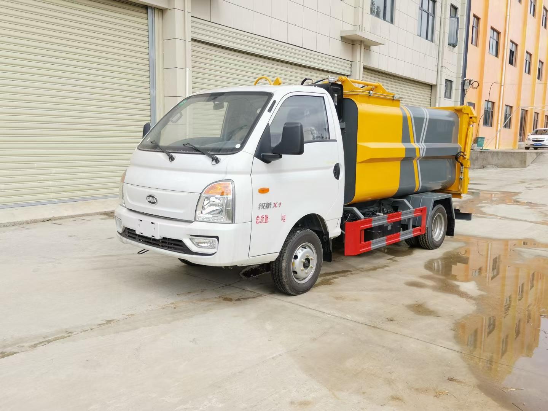 CLW5030ZZZLS6型自装卸式垃圾车图片