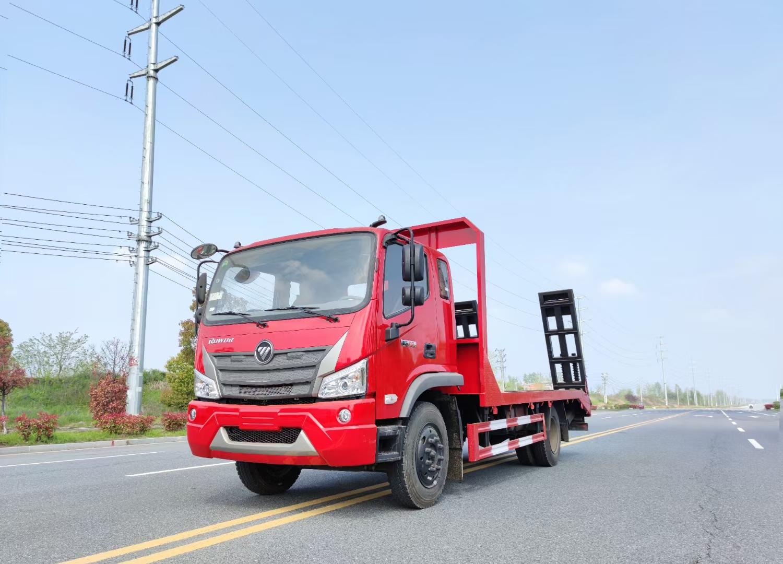福田瑞沃3900轴距国六平板运输车图片
