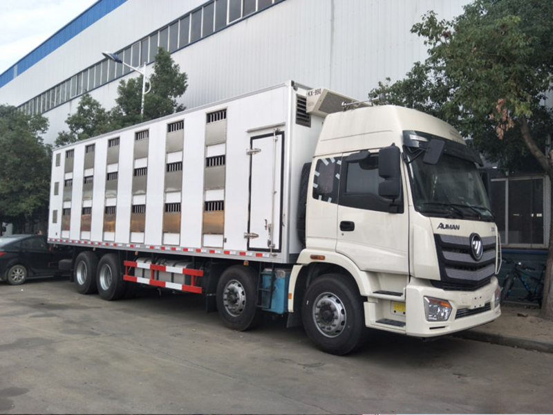 成品猪运输车 恒温运猪车多少钱一辆 拉猪车厂家报价