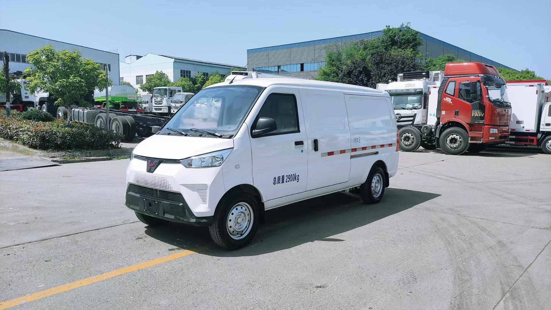五菱新能源EV50冷藏车图片