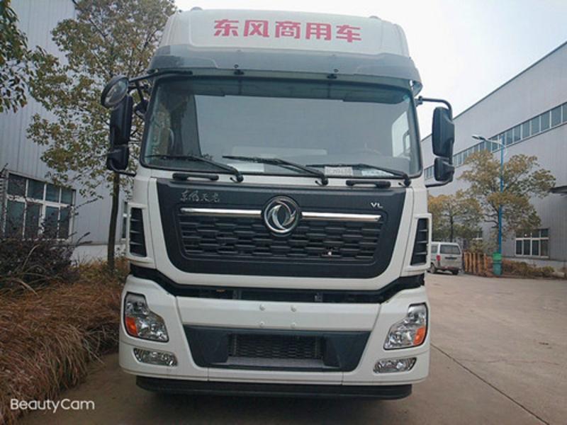 国六东风天锦15吨小三轴散装饲料车