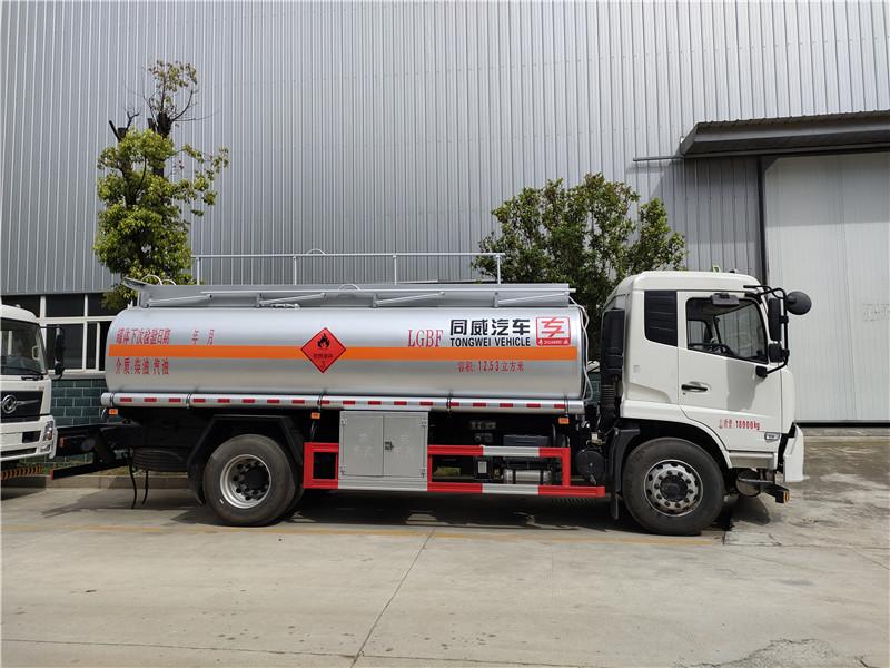 全新规12.53方东风专底12吨加油车 可正常上户到7月1号视频