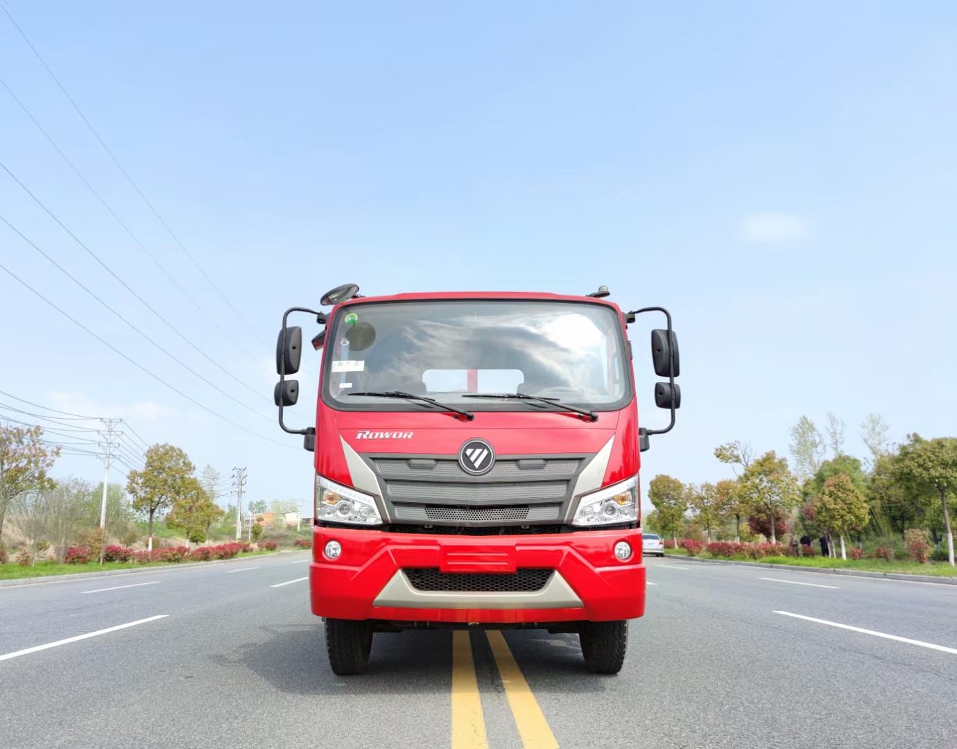 福田瑞沃4200轴距国六平板运输车图片