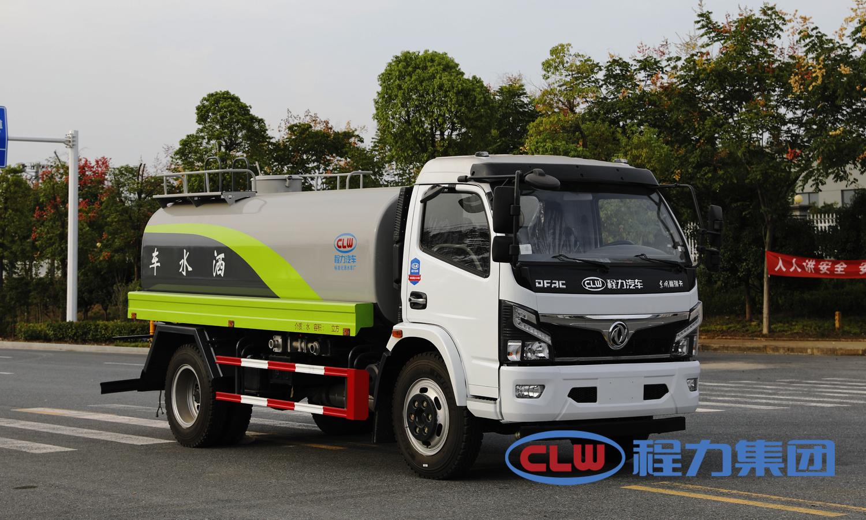 国六东风9.2吨洒水车