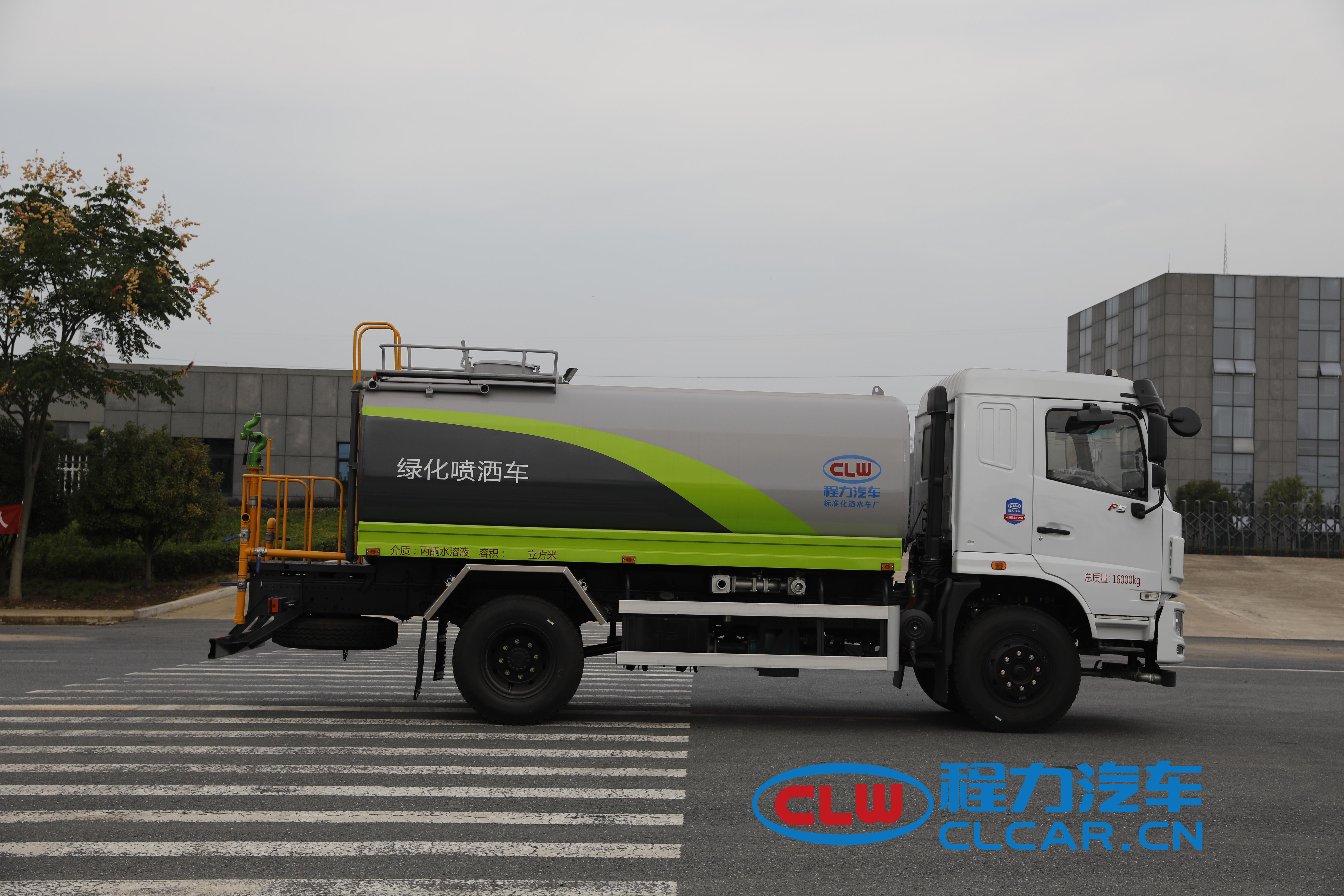 东风华神F5型12吨洒水车