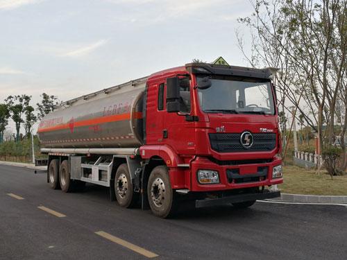 28吨国六陕汽德龙铝合金运油车潍柴270马力特价送车上门可分期