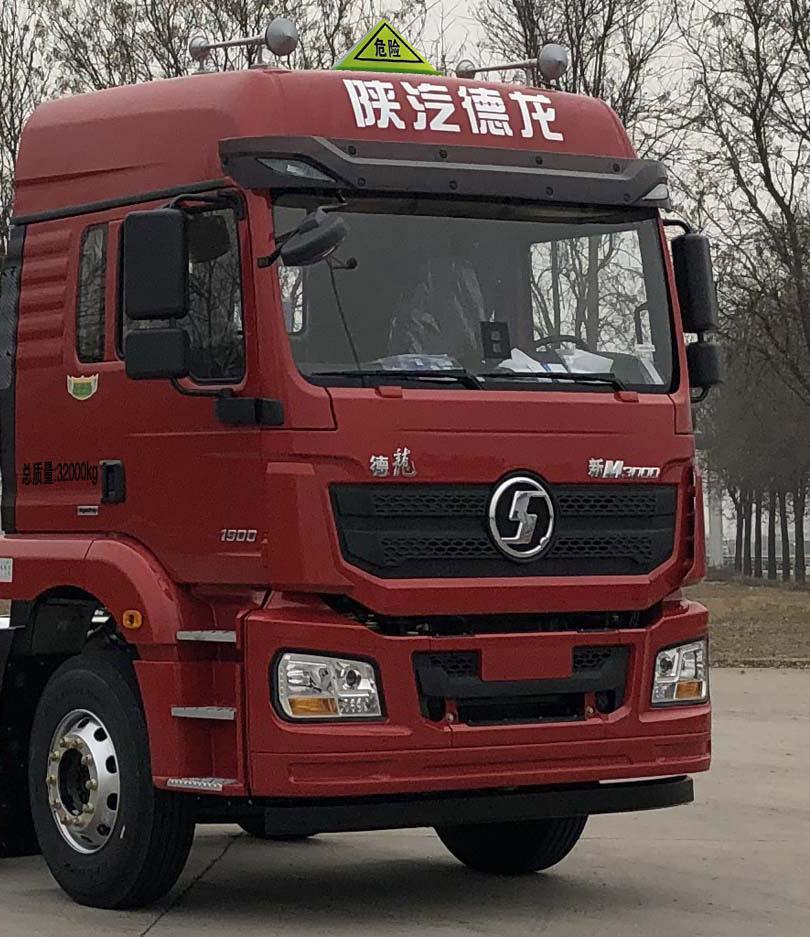 28吨国六陕汽德龙铝合金运油车潍柴270马力高安全大吨位