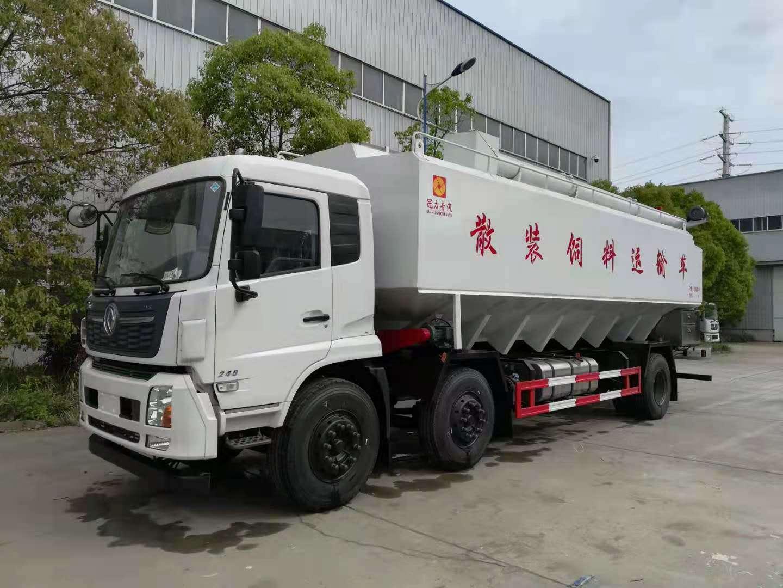 国五天锦三轴15吨16吨17吨饲料车发车福建,厂长笔记61图片