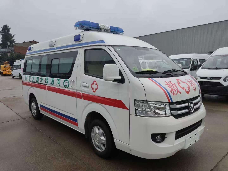 福田G7救护车多少钱?图片