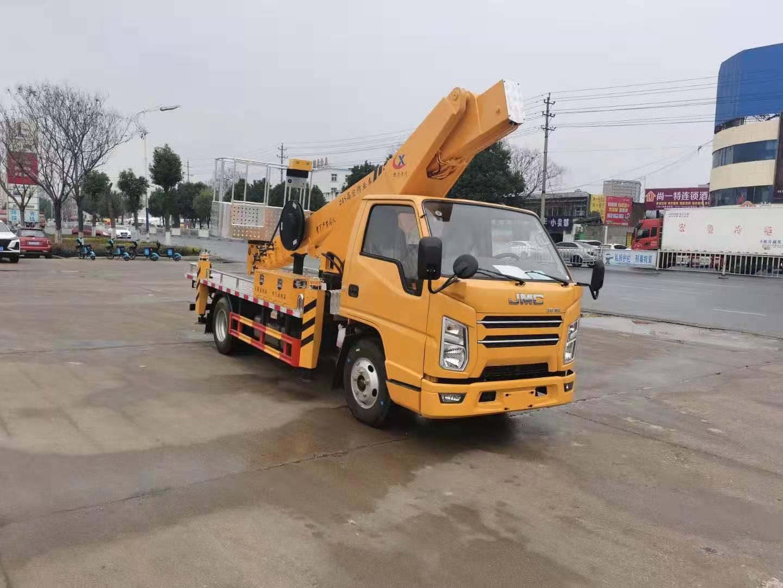 国六21米直臂高空作业车价格 高空作业车生产厂家视频