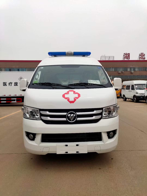 福田G7救护车厂家直销图片