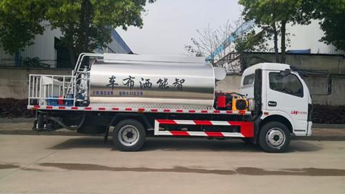 供应水泥净浆洒布车8-10吨沥青洒布车供应商制造商图片