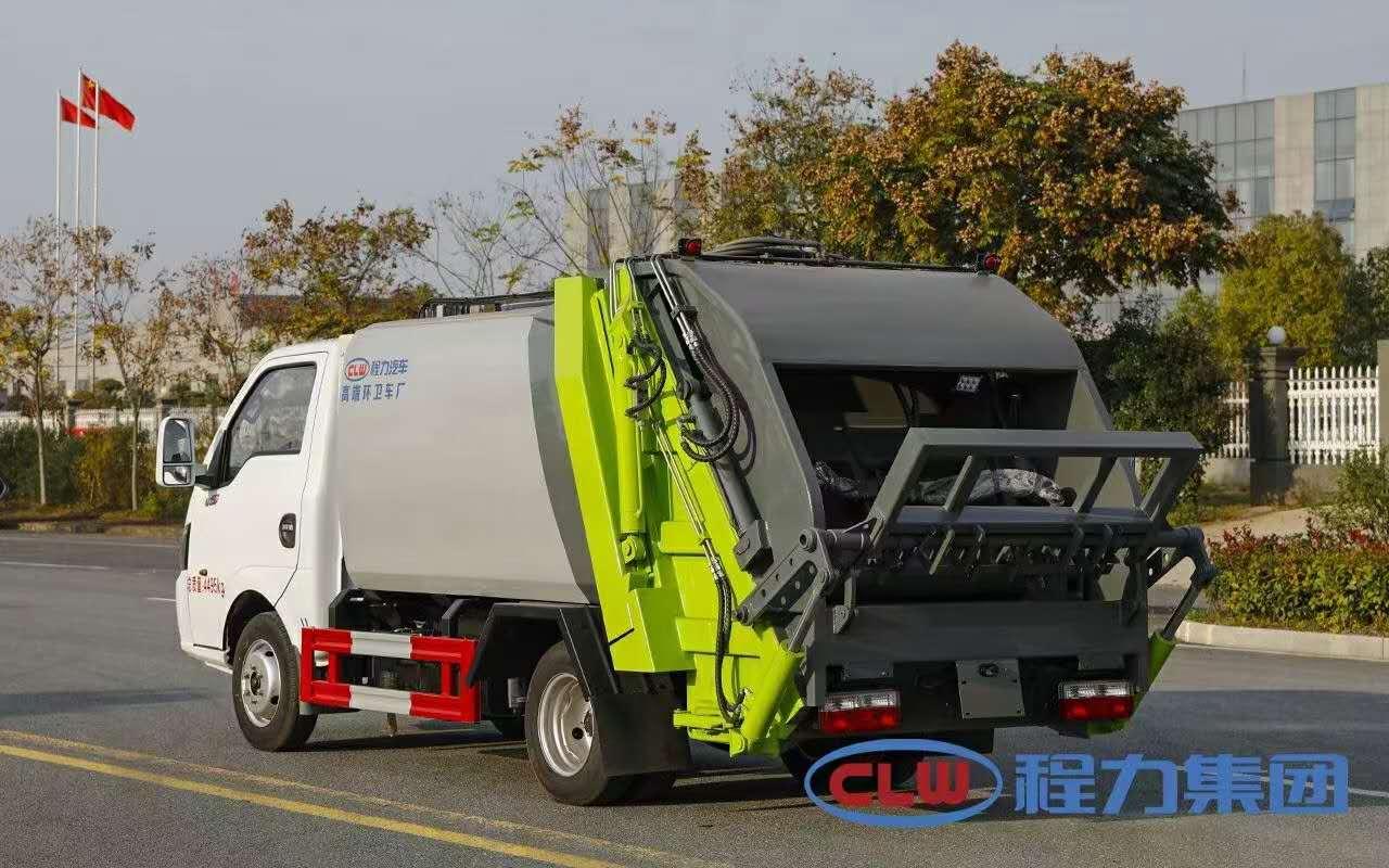 4方途逸压缩垃圾车图片