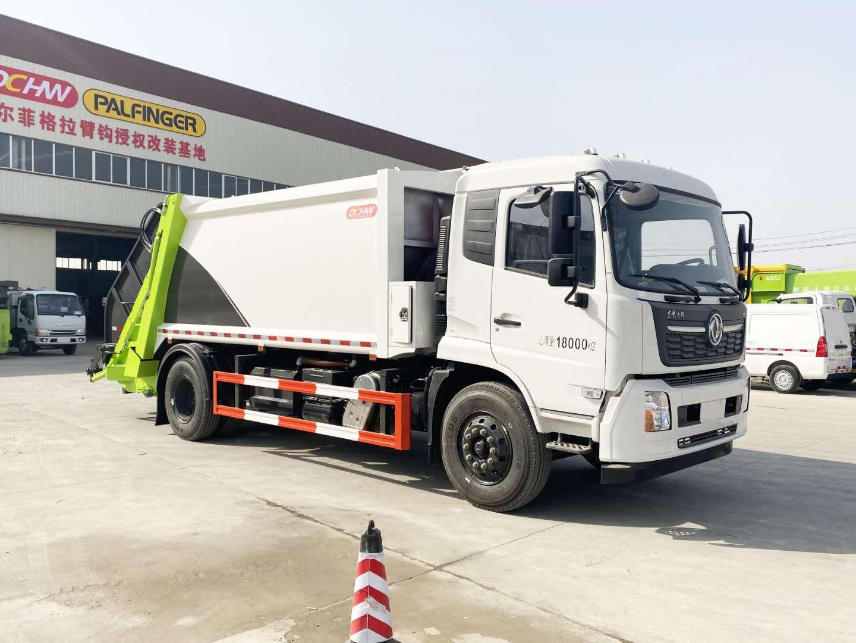 国六压缩垃圾车厂家收集240L垃圾桶运输车故障车说明