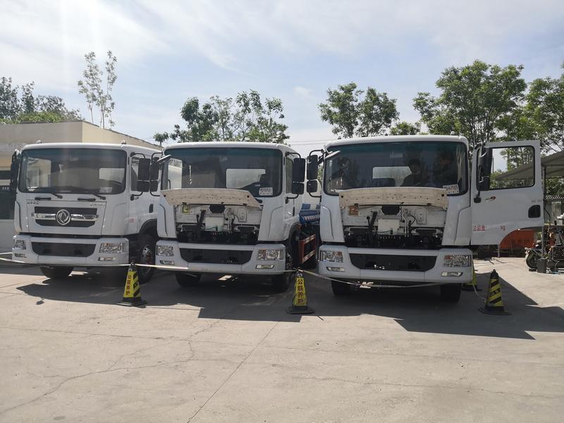 北京客户喜提12吨东风D9雾炮车,厂家直销,现车销售