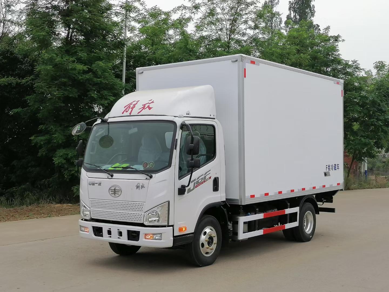 解放J6大柴150冷藏车图片