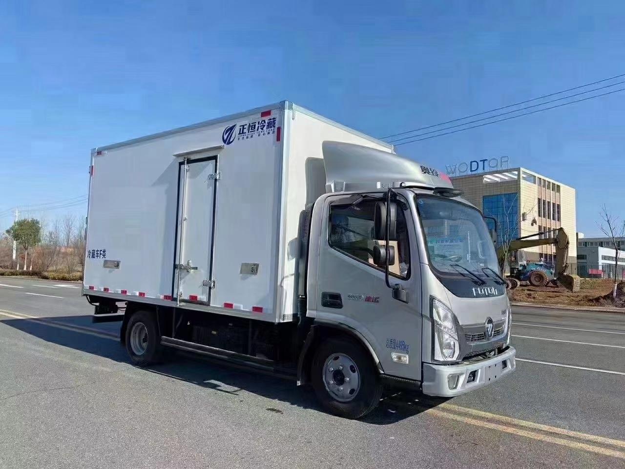 福田奥铃速运冷藏车多少钱?图片