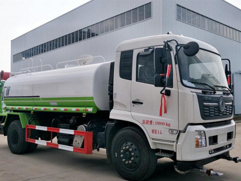 东风天锦15吨多功能抑尘车功能介绍