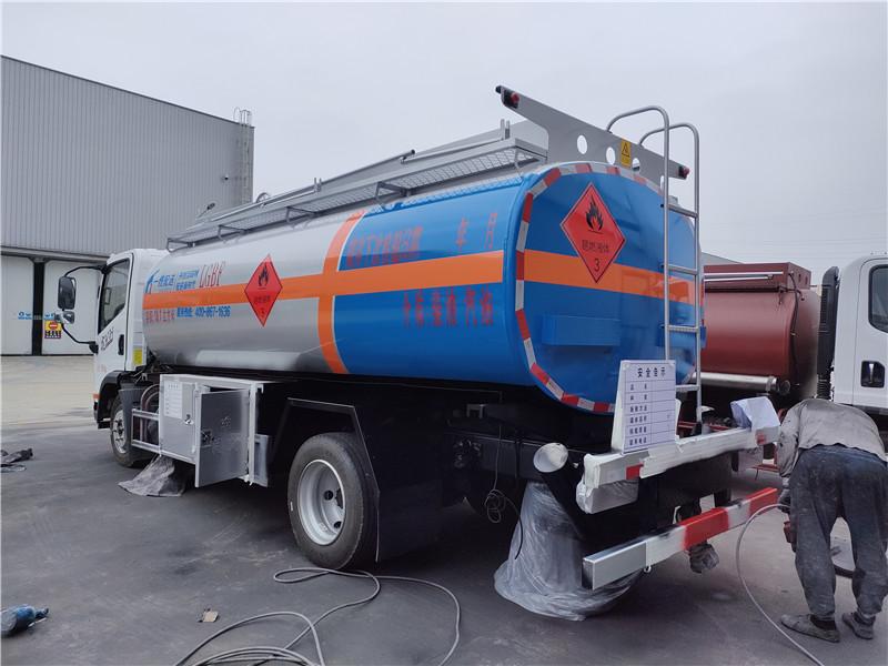 小萌加油 一线加油 一线配送8吨油罐车厂家专业订制 视频视频