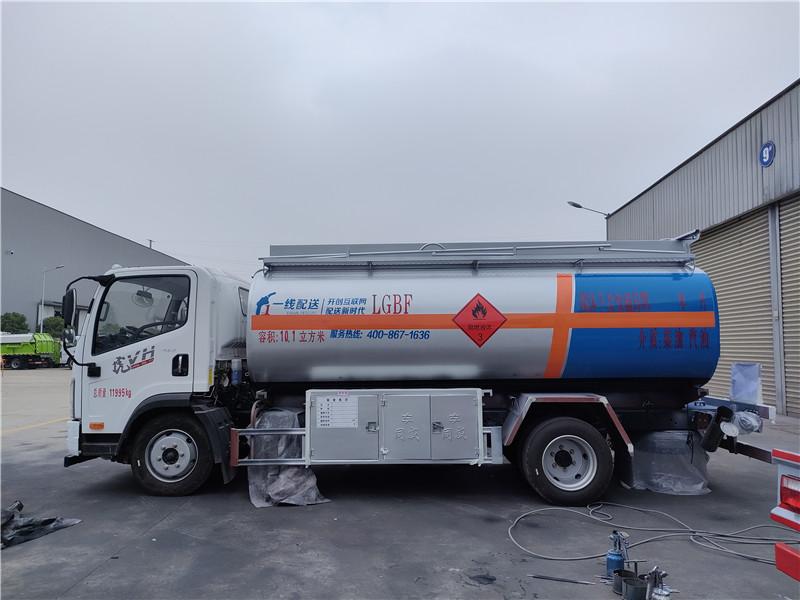 国六8吨加油车 一线加油车厂家批发价 工地流动加油车视频视频