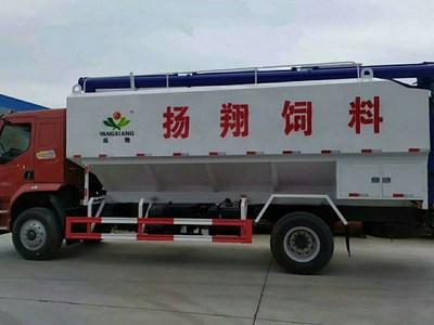 国六柳汽乘龙单桥散装饲料车什么价格?