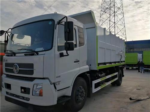 国六东风天锦压缩式对接垃圾车(17方)