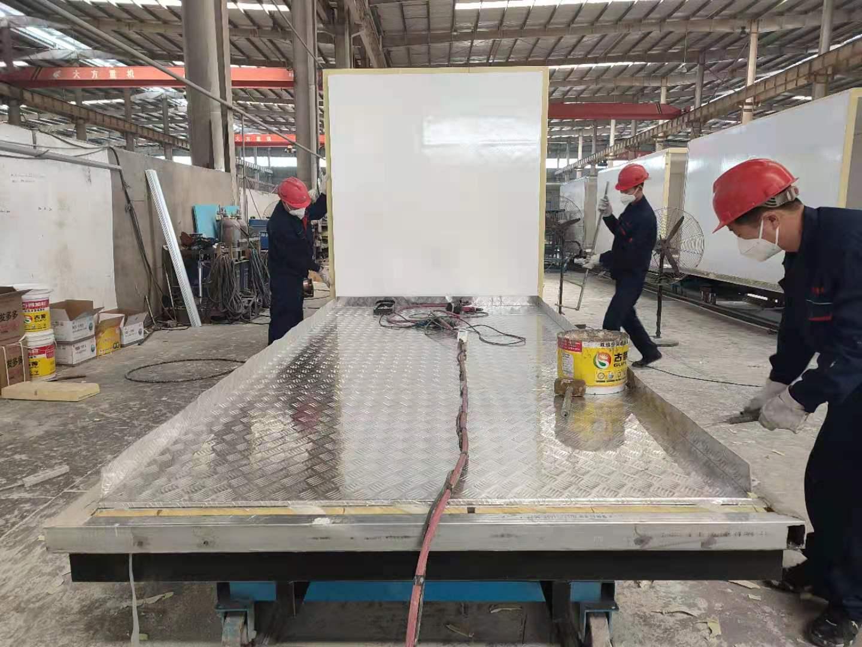 冷藏车焦妍发布冷藏车生产流程视频图片