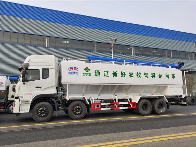 东风散装饲料车 东风15吨饲料车 15吨散装饲料车