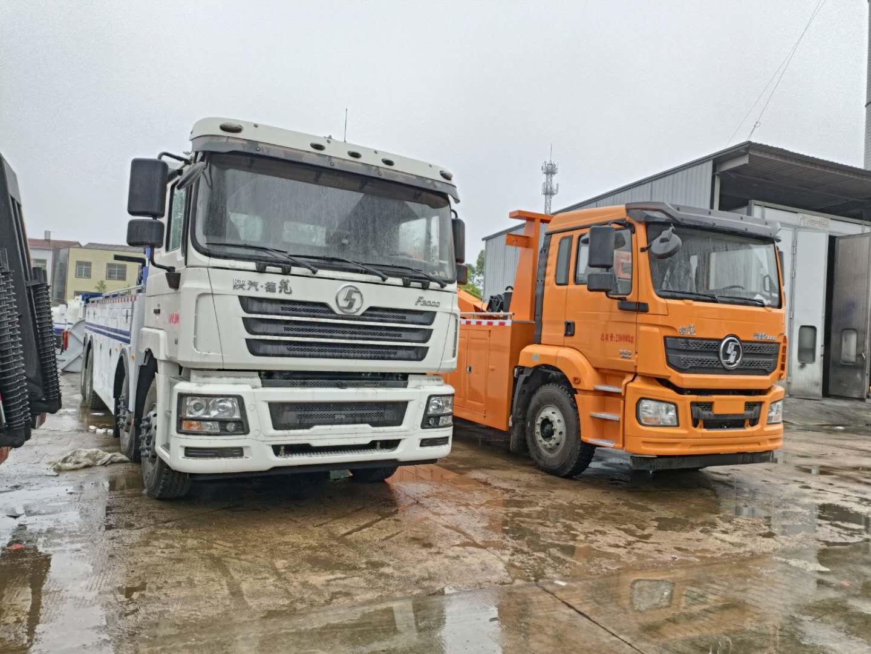 国六陕汽拖吊联体拖车价格16吨道路清障车救援几十万大货车图片