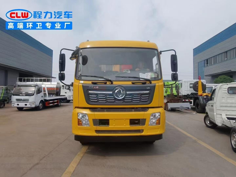 国六东风天锦14方压缩垃圾车生产厂家直销在哪里图片