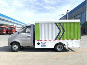 国六长安桶装垃圾车图片