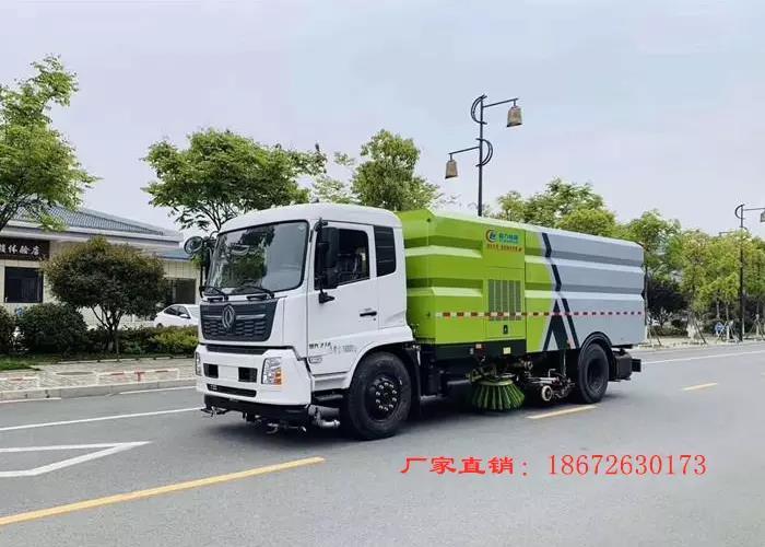 国六东风天锦16方洗扫车图片