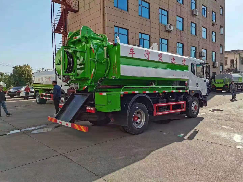 东风D9清洗吸污车厂家订制图片