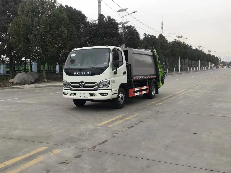 福田m3壓縮垃圾車圖片