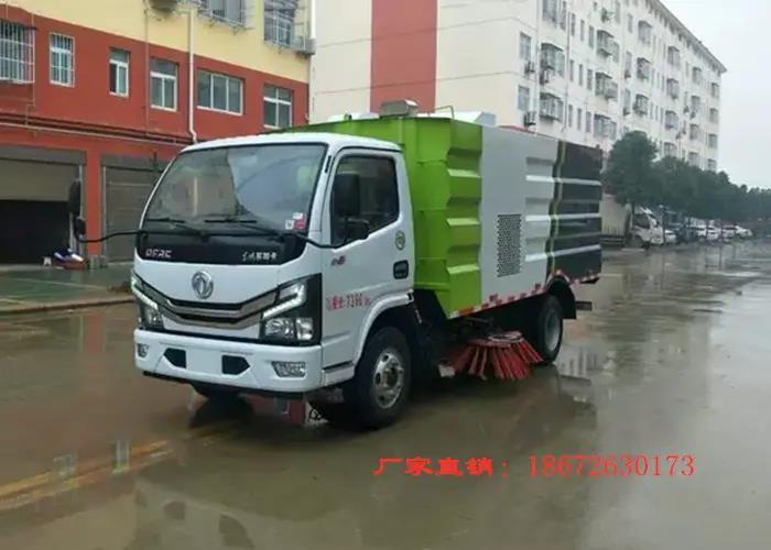 东风国六福瑞卡5方扫路车图片