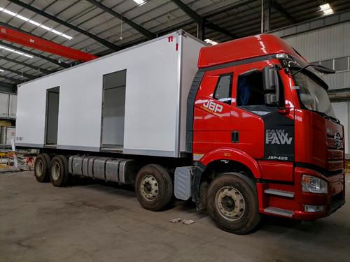 国六冷藏车9.6米报价多少钱一台?