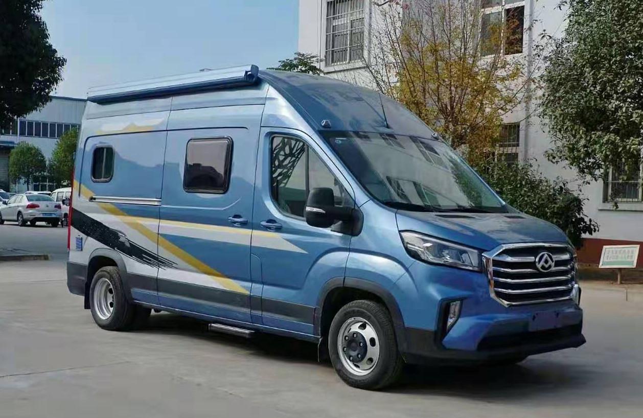 大通V90长轴高顶国六自动挡房车现车特价29万起售图片