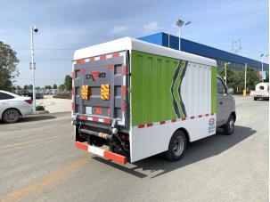 国六压缩垃圾车视频