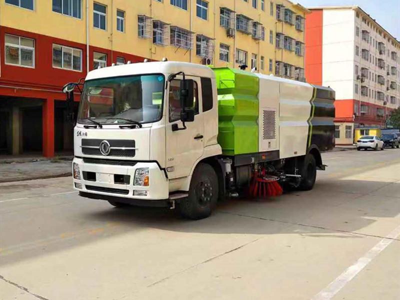 国六东风天锦洗扫车多少钱一辆?图片