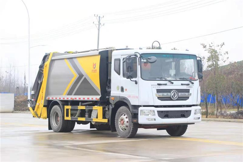 东风D9 环卫压缩垃圾车  厂家直营销售报价 送车上门 包上牌