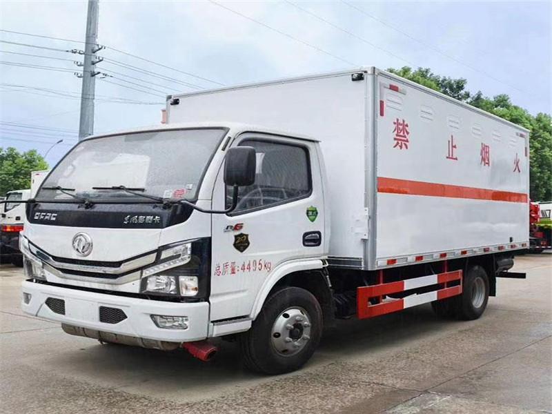專門賣易燃氣體廂式運輸車的廠家在哪圖片