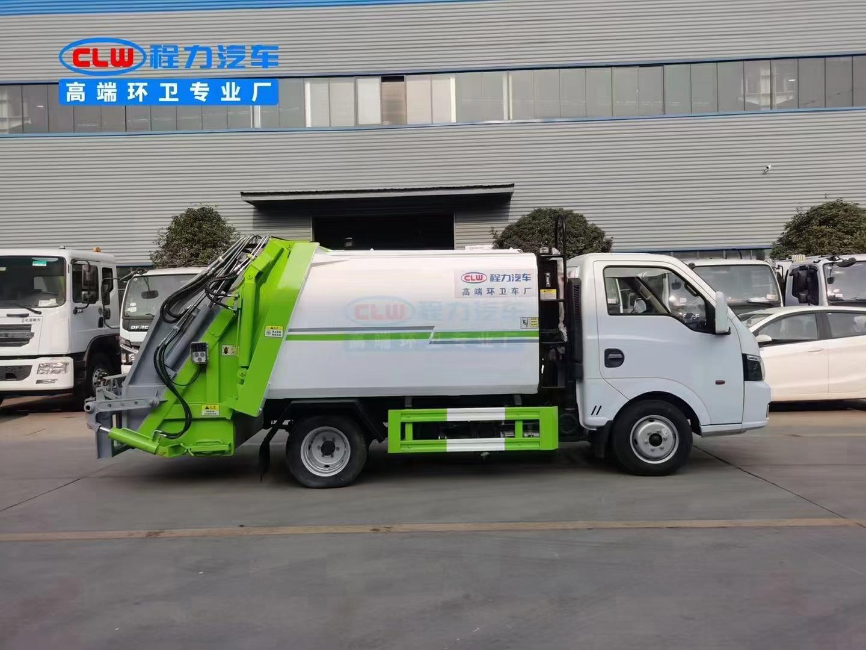 国六东风途逸压缩垃圾车厂家直销在哪里图片