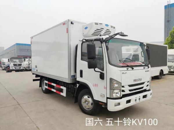 國六五十鈴 4米 冷藏車圖片