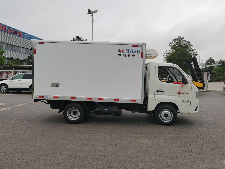 国六后双轮最便宜的冷藏车厂家直销在哪里包送到家图片