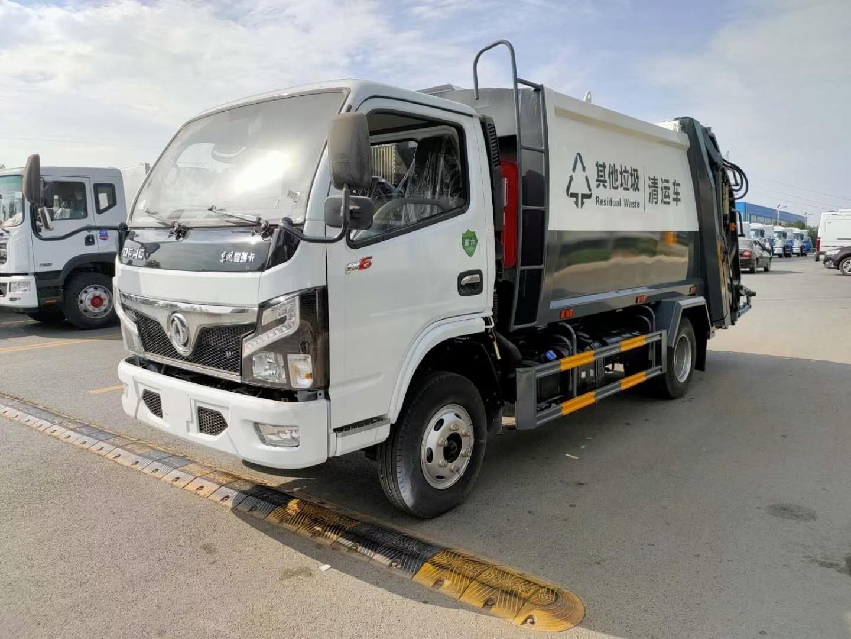 东风多利卡6方压缩垃圾车 转运垃圾车 厂家销售服务
