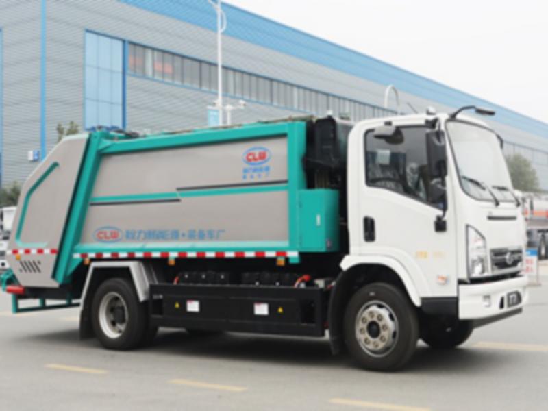 请欣赏新能源纯电动环卫全系(二十),比亚迪纯电动8方压缩垃圾车